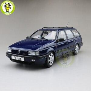 Image 1 - 1/18 KK Passat B3 Vr6 Variante 1988 Diecast Modell Auto Spielzeug Junge Mädchen Geschenke Nichts kann geöffnet werden