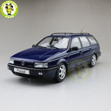 1/18 KK Passat B3 Vr6 wariant 1988 odlewane modele zabawkowych samochodów chłopiec dziewczyna prezenty nic nie można otworzyć