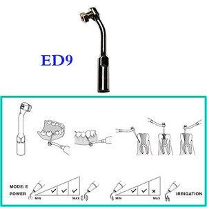 Image 3 - Herramienta de ortodoncia Bonart, 2 unidades/lote, Dental, escalador ultrasónico, Punta ED9, para DTE/ Satelec/ NSK/ Gnatus/