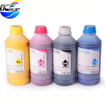 OCINKJET 5Color Textile Ink For Epson R280 R290 R330 L801 1390 1400 1410 R1800 R1900 R2000 R3000 F2000 L800 For DX5 DX6 DX7 Head