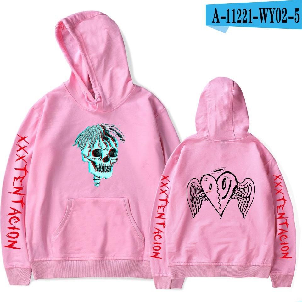 Forever XXXTentacion Rapper Hoodie Sweatshirt Plus Size Mens Black Bad Vibes
