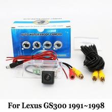 Стоянка для автомобилей Камера Для Lexus GS300 GS 300 1991 ~ 1998/RCA AUX Проводной Или Беспроводной/HD CCD Ночного Видения Заднего Вида камера