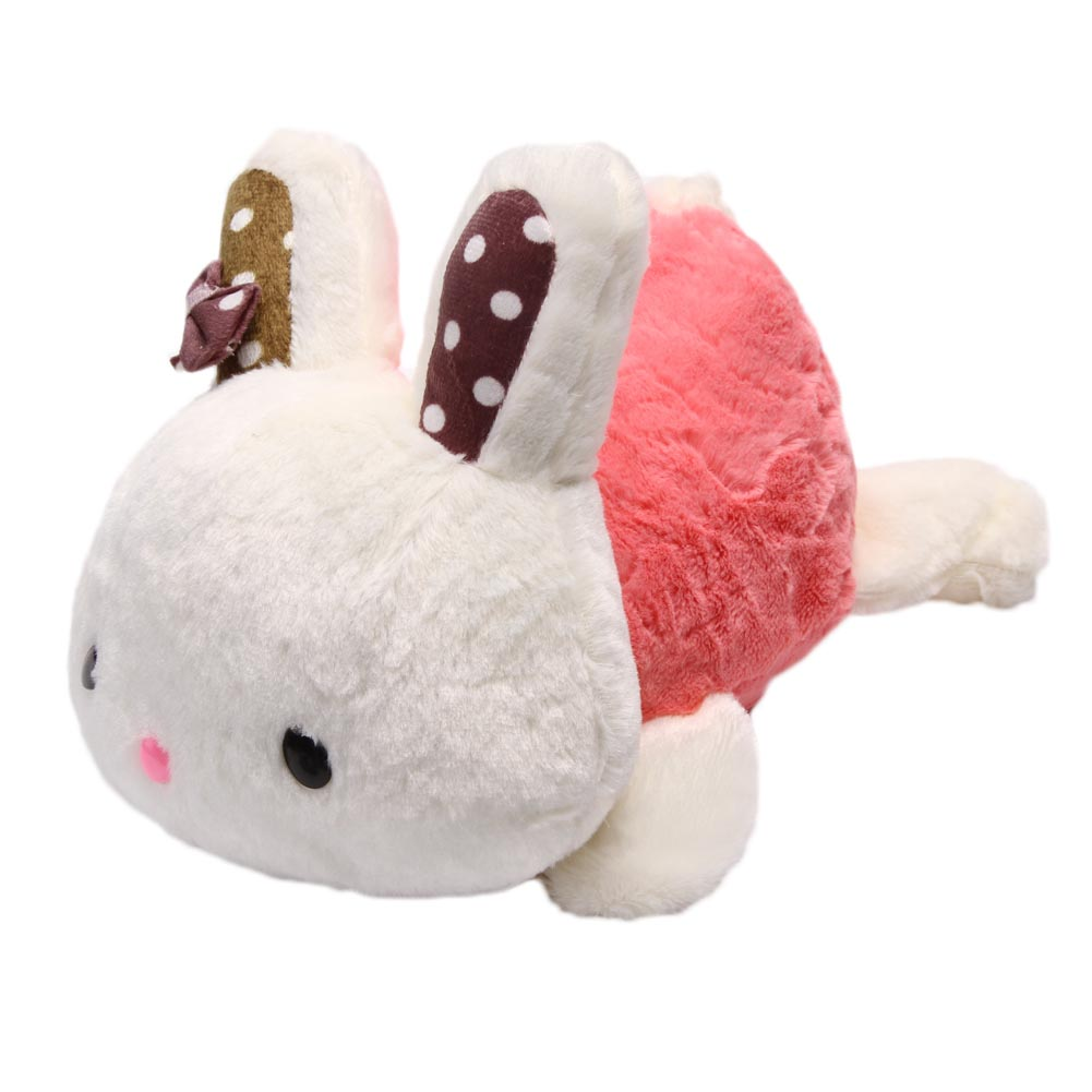 31cm Rabbit Plush Toy Doll Staffed Animal Lying Rabbit Toy Car & Home Decoration Kids Toys Girls Gifts Car accessories