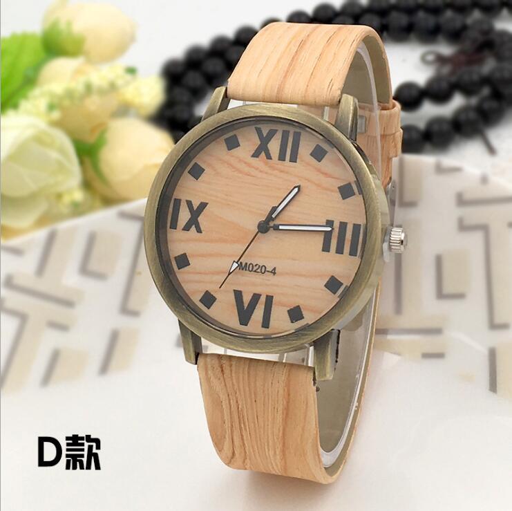 Symulacja Drewniane zegarki kwarcowe Reloje Męskie Zegarki na co - Męskie zegarki - Zdjęcie 5