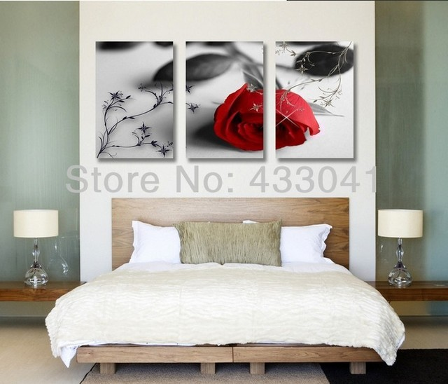 Oil Painting On Canvas 3 Piece wall art sets modern abstract canvas ...