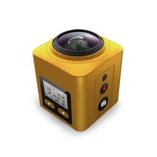 Extremely HD Digital camera 4K 60FPS Panorama 1440P 360 Wi-fi Waterproof Motion Video Camcorder 360 Diploma Mini Digital camera