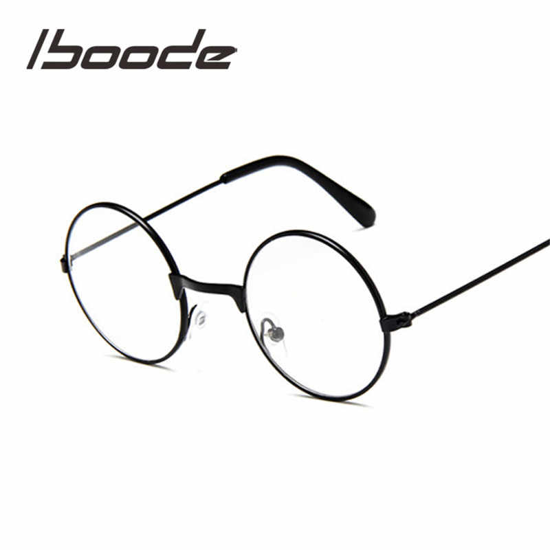 f0a970d8f98d Detail Feedback Questions about iboode Round Spectacles Glasses Frames  Eyewear Kids With Clear Lens Myopia Optical Transparent Glasses For  Children Boys ...