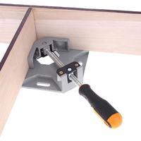 Aluminum right angle clip Corner clip Photo frame corner clip Tool pliers Single handle 90 degrees Fixture Cheap fixture