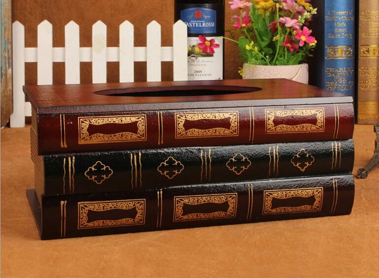 Kutia e indeve retro Simulimi i kutive prej druri antike evropiane - Magazinimi dhe organizimi në shtëpi - Foto 5