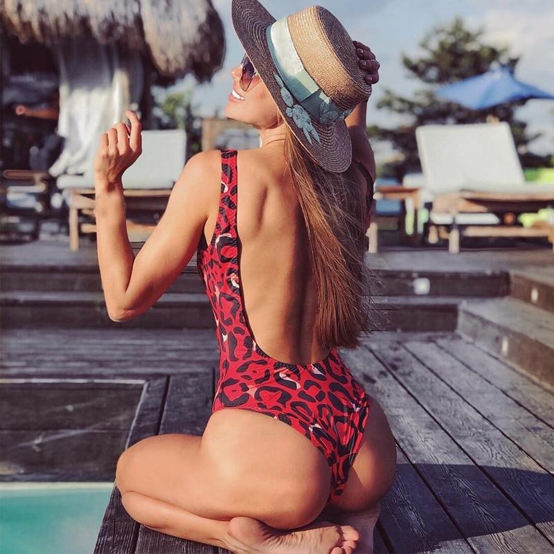 HTB1NwP2X.Y1gK0jSZFCq6AwqXXae leopard swimwear women swimsuit brazilian thong bikini 2019 bathing suit women high waist bikinis push up swimming suit biquini