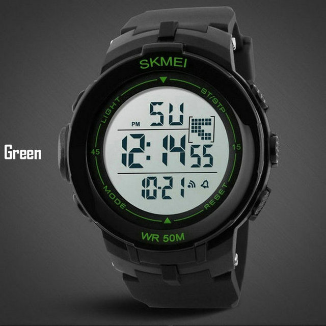 Newest Favourite 5atm Waterproof Top Quality Fashion Design Sport From China LED Outdoor Casual Digital Military Young Watches