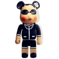 70CM Medicom Toy 1000% Be@rBrick BFF OriginalFake Brian Street Art Vinyl Action Figure Collectible Model Toy S284