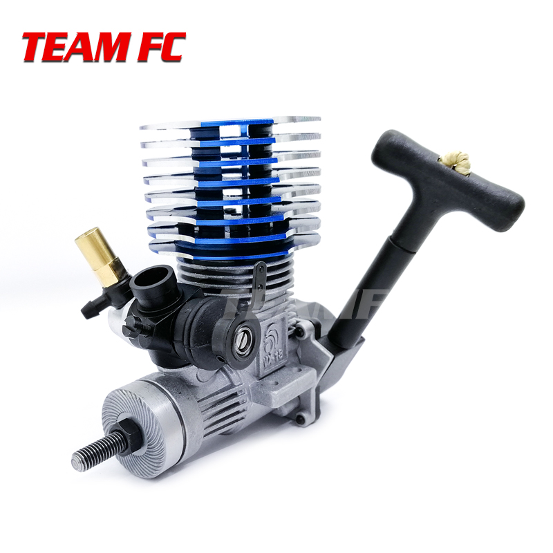 HSP 02060VX 18 Engine 2.74cc Trekstarter RC 1/10 Nitro Auto On road Car Buggy Monster Bigfoot Truck voor 94122/94177/94188 S203-in Onderdelen & accessoires van Speelgoed & Hobbies op  Groep 1