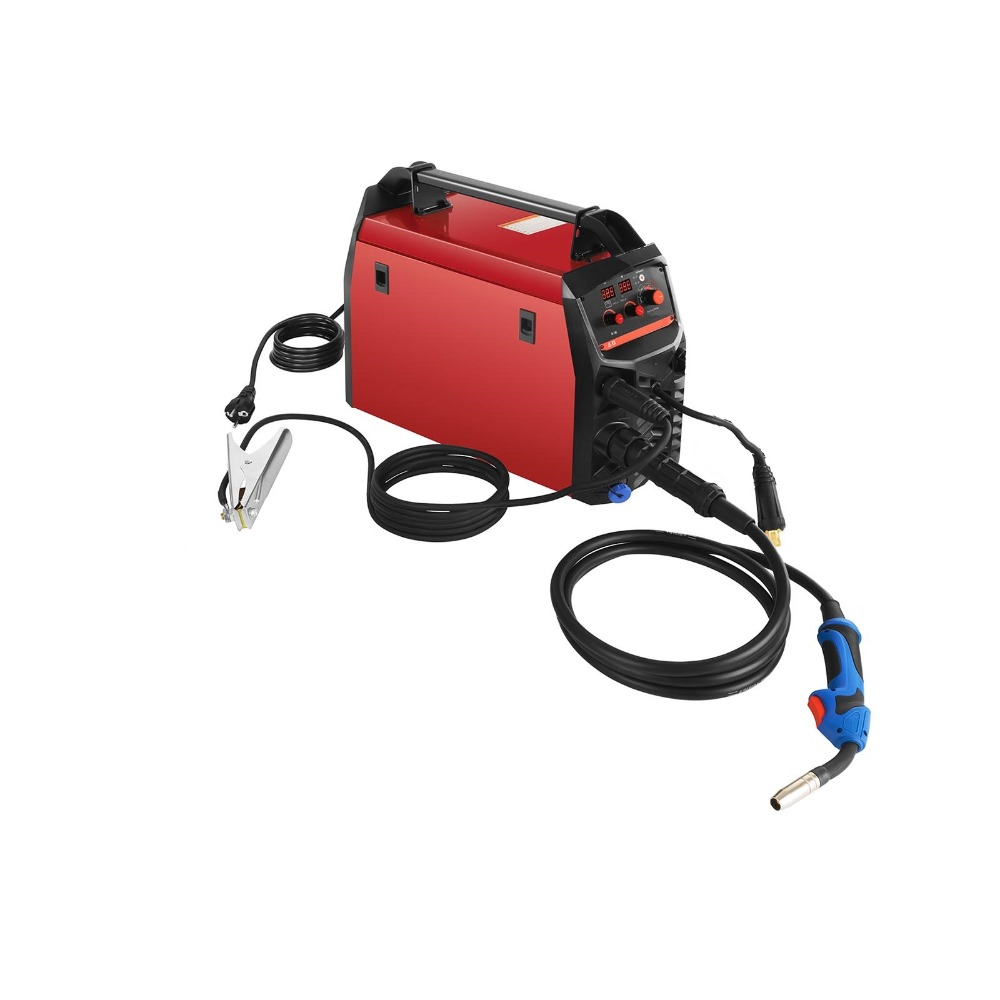 Synergic MIG/MAG/TIG/MMA Welding Machine Welding Equipment CE EN 60974-1 195A MIG MMA TIG Combined Welder цена и фото