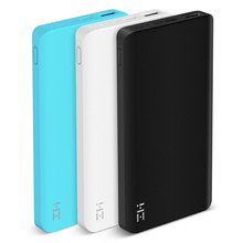 Original Xiaomi ZMI Power Bank 10000 mAh Powerbank Quick Charge 2.0 10000mAh Power Bank Two-Way Fast Charge for iPhone Samsung