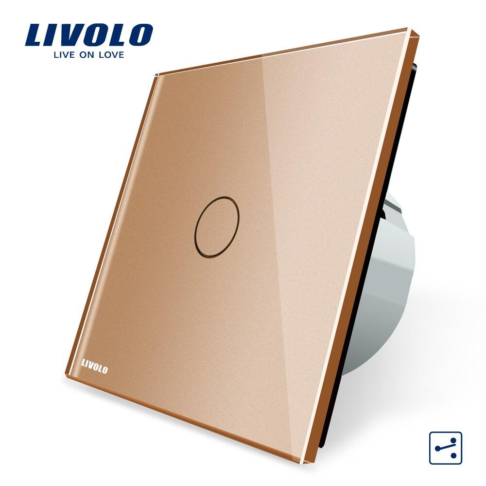 Livolo EU Standard Wandschalter 2 Radiofrequenz-2-wege ...