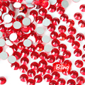 Siam Rojo Rhinestone Del Hotfix ss3 ss4 ss5 ss6 ss8 ss10 ss12 ss16 ss20 ss30 ss34 Rhinestone 3D Nail Art Decoraciones H0016