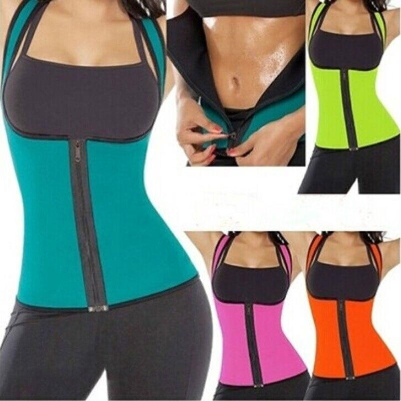 4 Color Picked 2017 New Women Neoprene Body Shaper Vest Slimming Waist Slim Belt Yoga Shirt Underbust Charming Female Sprort Top Fitness & Body Building