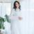 Elegante de Encaje de Algodón Las Mujeres Ropa de Dormir Camisón Real Camisón de Las Mujeres Ropa de Dormir Sexy Princesa Ropa De Cama de Alta Calidad de La Vendimia