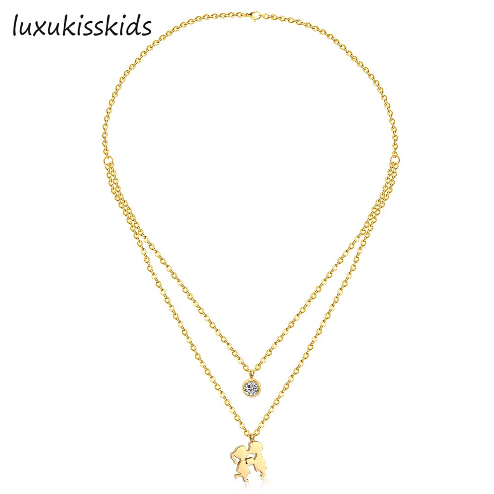 look water drop necklace collections layer boss multi statement multilayer products bossescloset