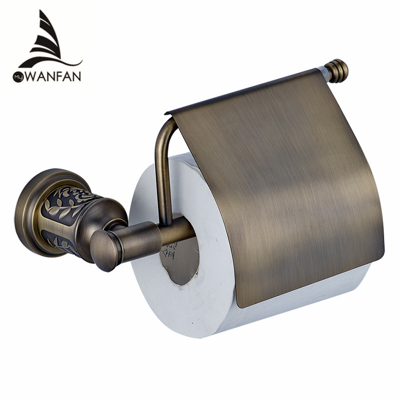 Bathroom Toilet Paper Holder With Cover Gold Antique Brass Roll Tissue Rack Carved Pattern Base Paper Shelf Wall Mounted 88008 catrice контур для губ longlasting lip pencil 170 plumplona ole свекольный 0 78гр