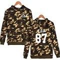 Bigbang T.o.p Camouflage Hoodies XXS To 4XL And Bigbang Sweatshirt Men Hip Hop With Battle Fatigues Clothing With Cap Hot Sale
