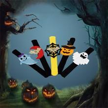 Decorative Figure Pumpkin-Party-Supplies Pat Circle Halloween Bracelet Pops Hatosteped-Childern