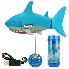 Горячая 3310B 3CH RC акула прочная Рыба Лодка подводная лодка мини радио дистанционное управление электронная игрушка Дети подарок на день рождения для детей