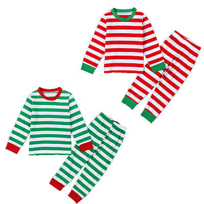 Popular Christmas Striped Pajamas-Buy Cheap Christmas Striped ...