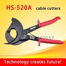 HS-520A храповик кабельный резак, Диапазон резки: 400mm2 Макс, не для резки стали или стальной проволоки