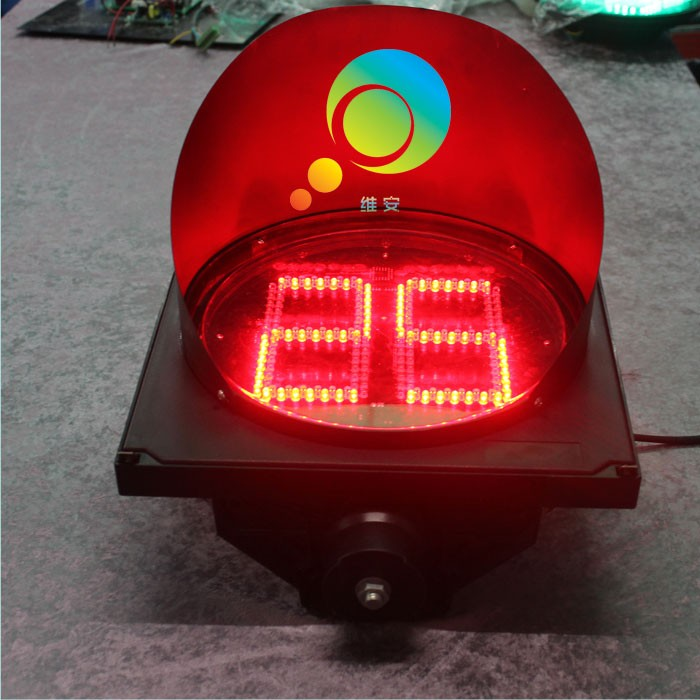 Two Digitals New Arrival Hot Selling 300mm Countdown Timer LED Traffic Signal Light