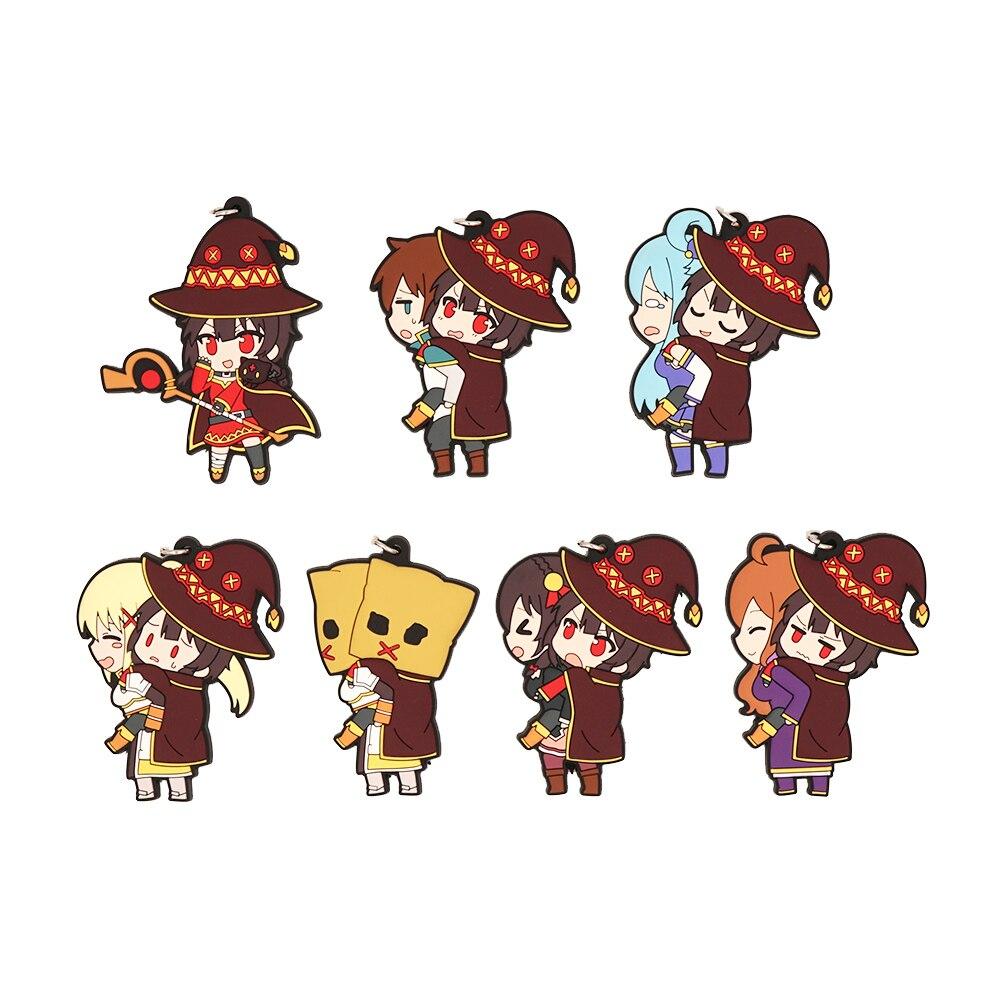 KonoSuba Aqua Darkness Wiz Megumin Character Rubber Mouse Pad Collection Ver.1