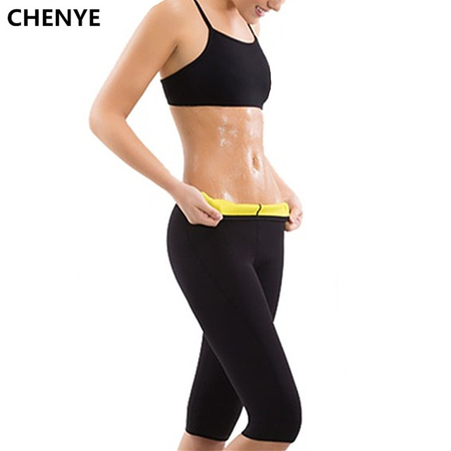 a11694210e Women s Slimming Pants Hot Thermo Neoprene Sweat Sauna Body Shaper Shapers  Plus-Size Weight Loss Compression Slimming Shorts