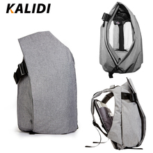 KALIDI  Waterproof 15.6-17.3 Inch Laptop Backpack Men Larger Capacity Casual School Backpack 15 Inch Student Travel Bags Mochila