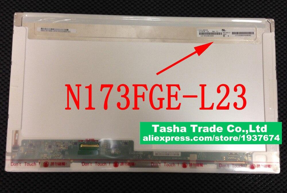 N173FGE-L21 L23 L12 LA3 B173RW01 V.5 V.3 V.2 V.0 N173O6-L02 LTN173KT02 LVDS 40PIN 1600*900 HD+ 17.3 LCD Screen