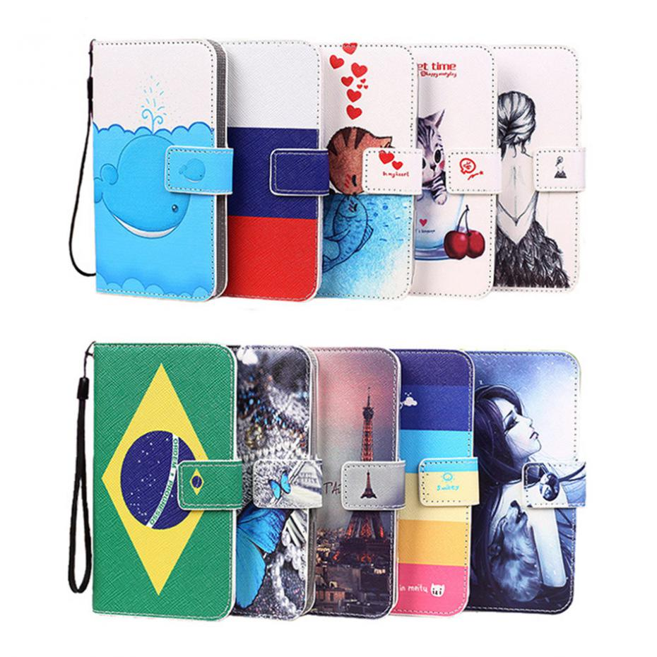 Colorful PU Leather Case Umi Hammer S 5.5 inch Eiffel Tower Butterfly Kitty Wolf Tattoo Girl Brazil Russian Flag Phone Cover  -  Jiangfeng Store store