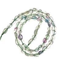 Лидер продаж нерегулярные Сияющий кварцевый кристалл Размер для 5-10 мм Прекрасный драгоценный камень подходит для Diy браслет и ожерелье 16 дю...