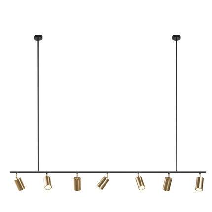 Gold Lampshade Pendant Lights LED Hanging Spotlight Lamp GU10 Nordic Modern Design for dinning room metal