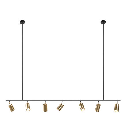Gold Lampshade Pendant Lights LED Hanging Spotlight Lamp GU10 Nordic Modern Design for dinning room metal suspension luminaire|Pendant Lights| |  - title=