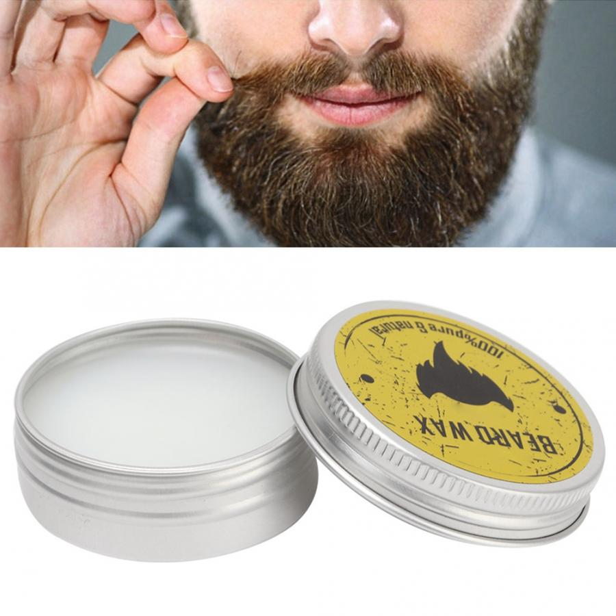 30ml Men Beard Oil Balm Wax Styling  Beard Grooming Wax Repair Deep Moisturizing Smoothing Beard Care Natural Beard Care Balm