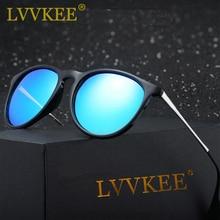 Lvvkee caliente 2017 new estilo cat eye erika gafas de sol de las mujeres Polarizado Gafas de Sol 4171 Gafas Gafas de Diseñador de la marca de La Vendimia Sol