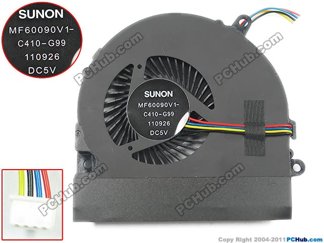 SUNON MF60090V1-C470-S99 DC 5V 0.20A Server Blower fan free shipping for sunon kde0505phb2 dc 5v 1 9w 2 wire 3 pin 50x50x15mm server square fan