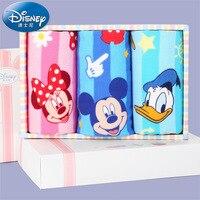 Fabrik großhandel produkte Disney Disney Minnie Mickey gaze kind handtuch 3 kleidung aus reiner baumwolle handtuch box handtuch