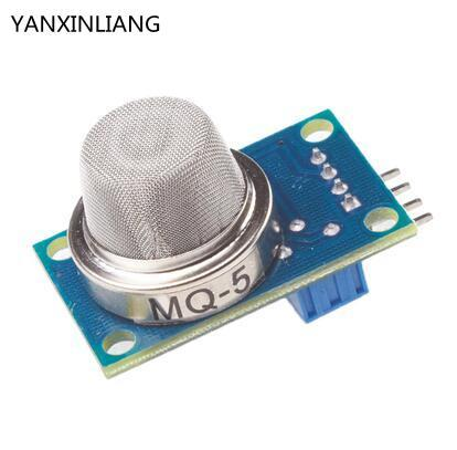 MQ-5 LPG gas detection module Gas City gas smoke sensor module ...