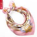 100% Mulberry Silk Scarf  Women Shawl Spring Autumn Silk Scarf Square Shawl Scarf 50*50cm