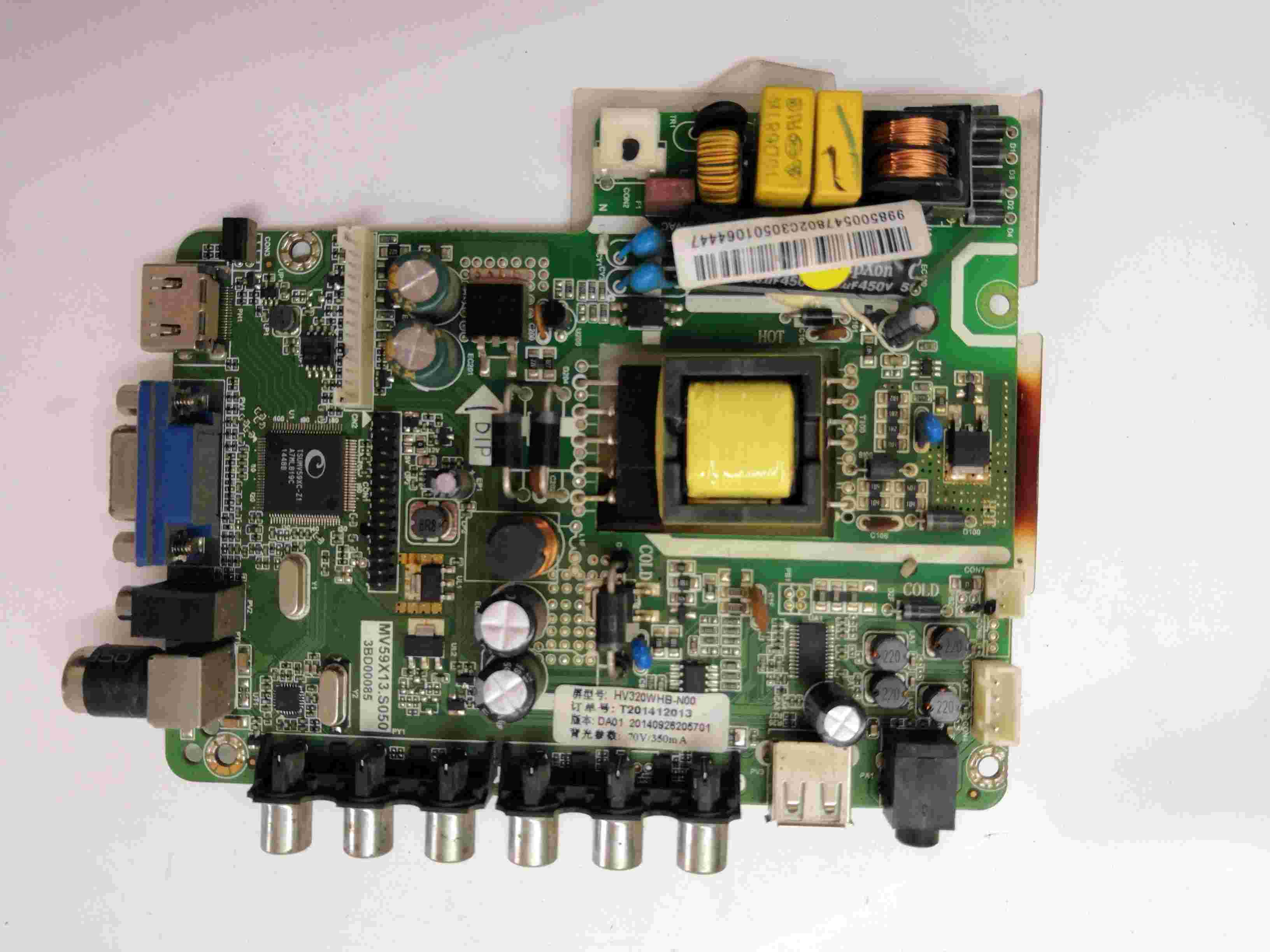 Knowledgeable Main Board Power Board Circuit Logic Board Constant Current Board Led 32v6 Led 32538m Mv59x13.s050 Screen Cn32tu727/726 Audio & Video Replacement Parts