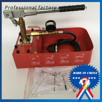 Red Manual Test Pump