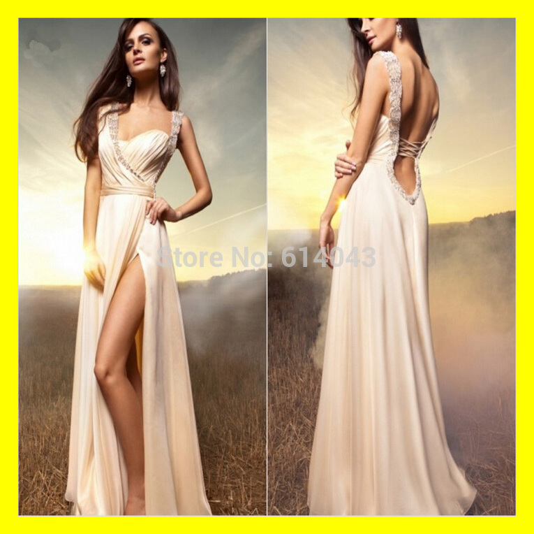 Black And White Evening Dresses Simple Dress Cream Cheap Prom Long ...
