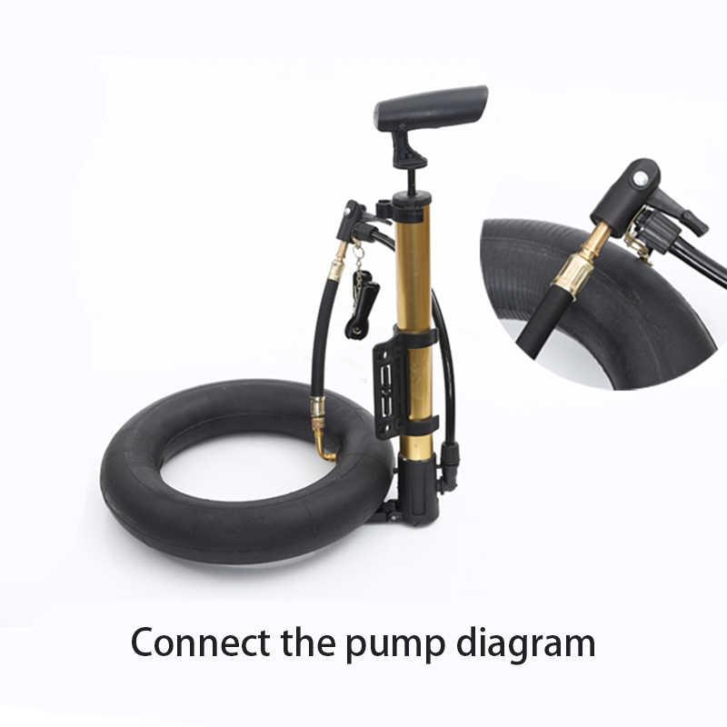延長用 Xiaomi M365 スクーター自転車バイク膨張ポンプホースインフレータブル延長チューブ空気サイクリングアクセサリー