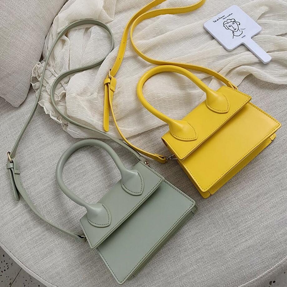 Bolsa de Ombro Mini Pequeno Pacote Quadrado Crossbody Embreagem Feminina Designer Carteira Bolsas Lazer Bolsos Mujer